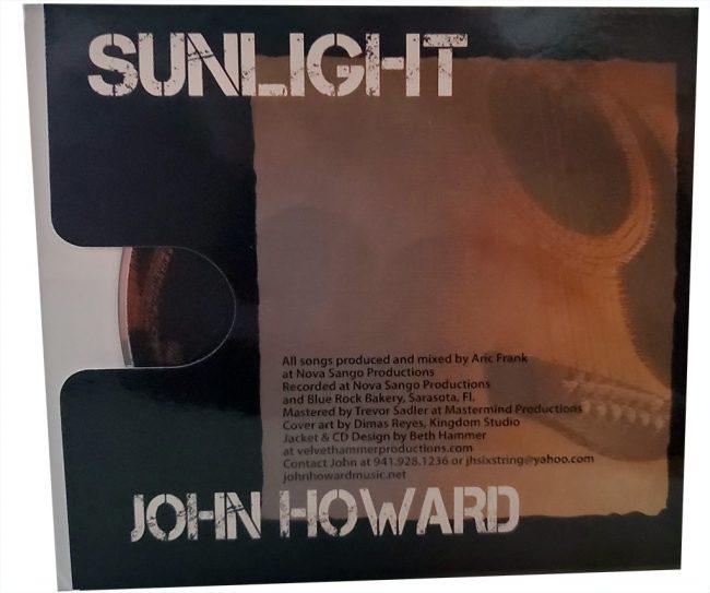 John Howard Sunlight CD inner sleeve right